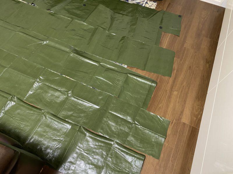 テントのスカート3