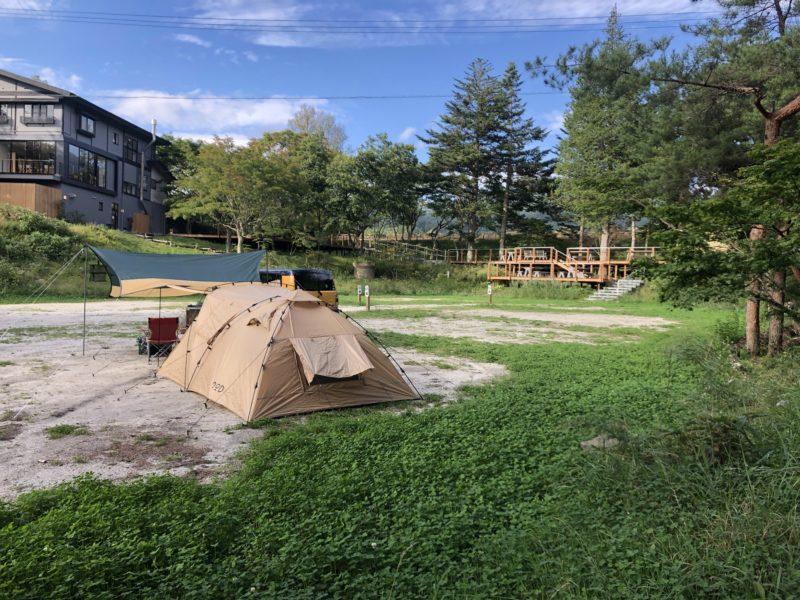 2人でキャンプ