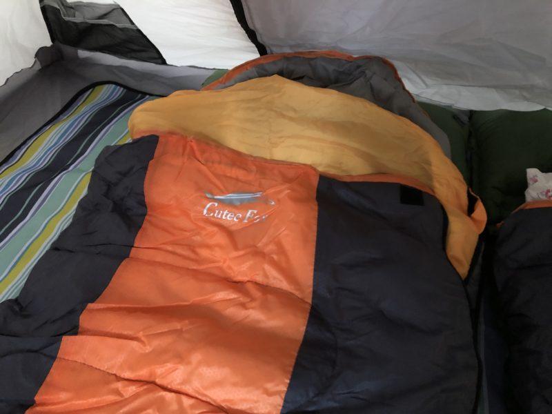 冬キャンプ寝袋