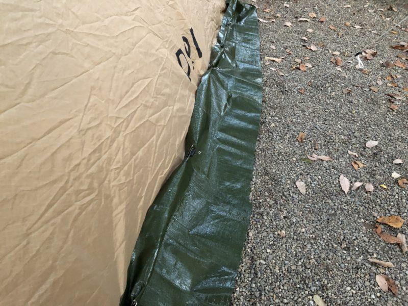 テントのスカート1