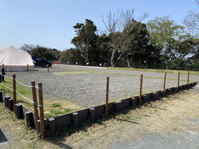 ソレイユの丘キャンプ場オートサイト