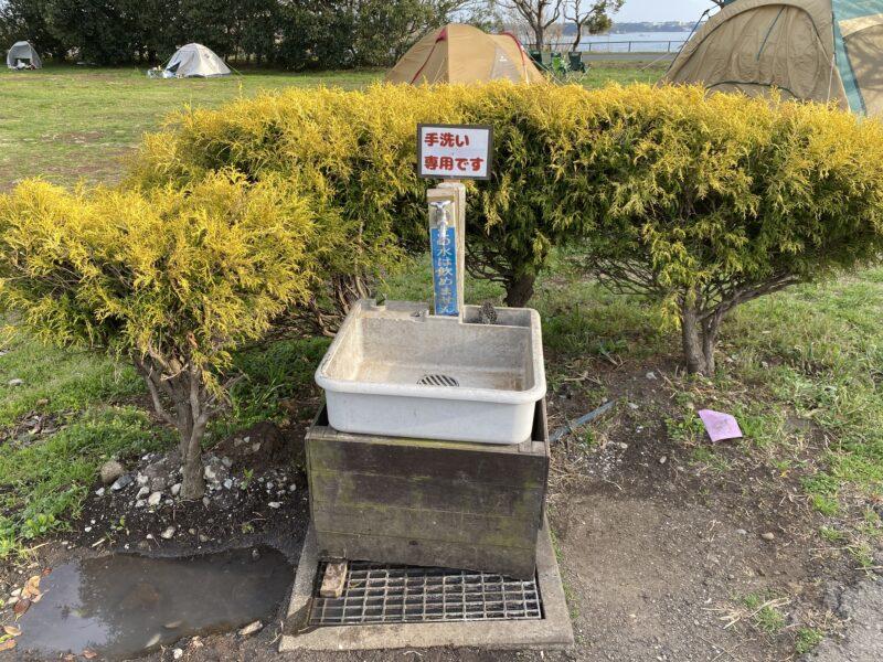 ソレイユの丘キャンプ場手洗い場
