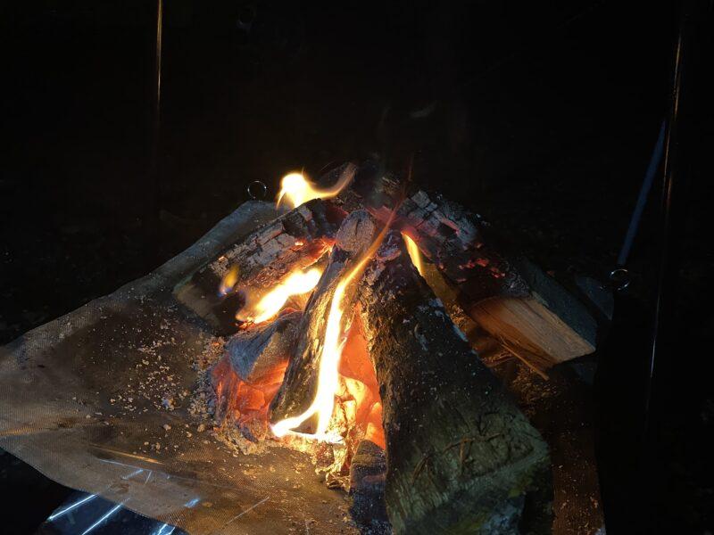 焚き火初心者