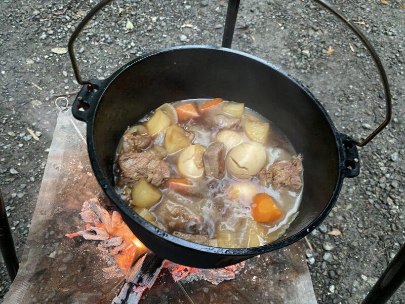 ダッチオーブン豚ブロック角煮5